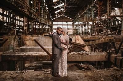 El estilo industrial conquista a los novios de medio mundo, ¿lo quieres para tu boda?