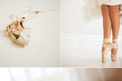 Casamentos dos sonhos de uma bailarina de ballet clássico