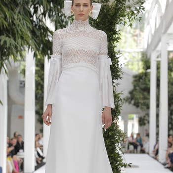 María Barragán: Credits: Barcelona Bridal Fashion Week