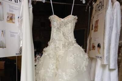 Vestidos de novia Monique Lhuillier colección primavera 2014