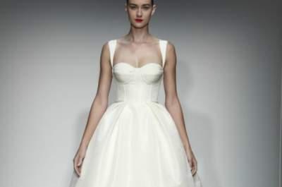 Amsale Wedding Dresses Fall 2013: Traditional with a Modern Twist