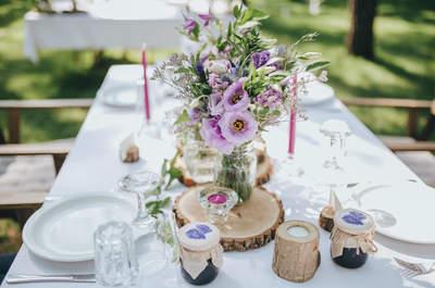 Descubre tres reglas para que tu menú de bodas sea todo un éxito creativo