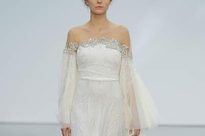 45 vestidos de noiva para mulheres com pouco busto: modelos lindos e favorecedores!