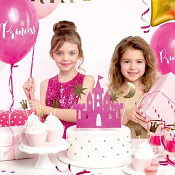 Figura tarta castillo de las princesa 4 unidades- Compra en The Wedding Shop