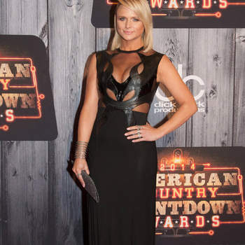 NASHVILLE, TN - DECEMBER 15:  Miranda Lambert attends the 2014 American Country Countdown Awards at Music City Center on December 15, 2014 in Nashville, Tennessee.  (Photo by Erika Goldring/FilmMagic)