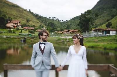 Casar na praia, no campo, ao ar livre? Saiba qual é a melhor época em cada região do Brasil!