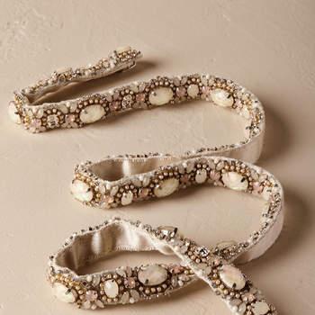 Riemen voor de bruid: accentueer je prachtige taille!