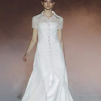 Modèle Rosa Clara 2013. Photo : Barcelona Bridal Week