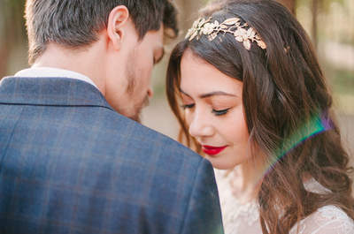 As Quatro Estações: Inverno - um editorial de noivos feito para sonhar...e inspirar!