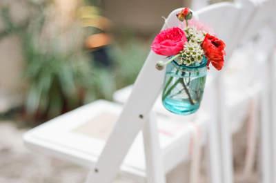 Quelques idées ingénieuses pour la décoration de votre mariage avec des Mason Jars !