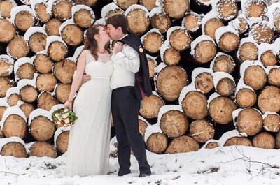 Droom winter-wedding shoots: zo kan je winterbruiloft er uitzien!