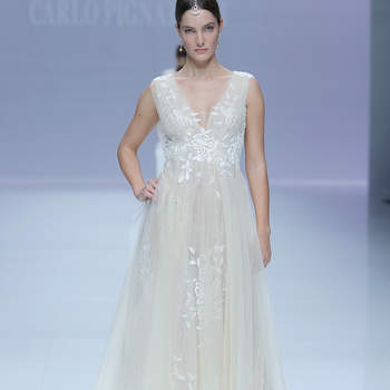 Carlos Pignatelli. Credits: Barcelona Bridal Fashion Week