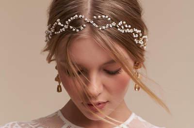 Complementos para novia. ¡Marca estilo con estos diseños exclusivos!