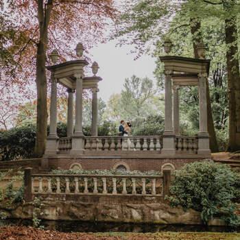 Liefde in de botanische tuin: een unieke locatie en prachtige sfeer in deze botanical styled shoot | Foto: Botanical styled shoot. Foto: Beyoutiful Fotografie