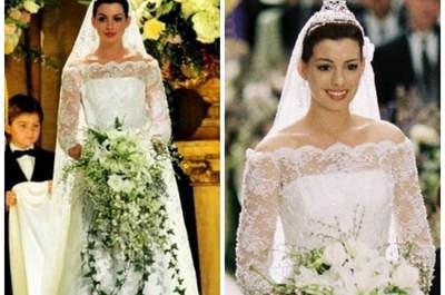 De fabelachtige bruidsjurken van Hollywood!