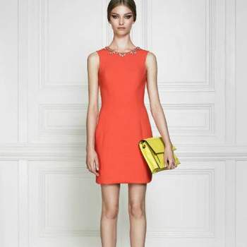 Vestido de festa cor-de-laranja, by Jason Wu Resort 2013.