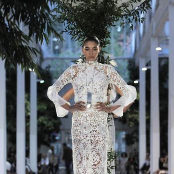 Roberto Diz. Credits: Barcelona Bridal fashion Week