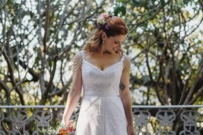 Vestido de noiva para casamento ao ar livre: saiba como escolher!