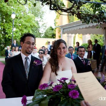 Cada vez son más las parejas que escogen una boda al aire libre. Foto: Dani Alda.
