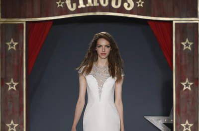 Suknie ślubne z kryształkami! Glamour i szykownie.