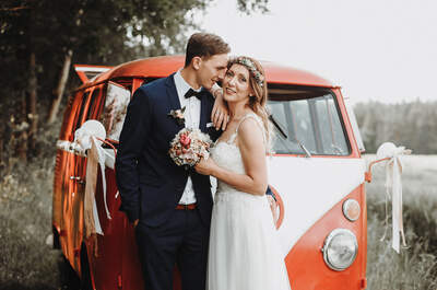Boho-Hochzeit in der Hallermühle - ein unvergesslicher Tag für Nicole & Sebastian