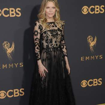 Michelle Pfeiffer de Oscar de la Renta. Credits: Cordon Press