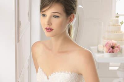 Vestido de novia 2015: Cinturones para estilizar tu figura
