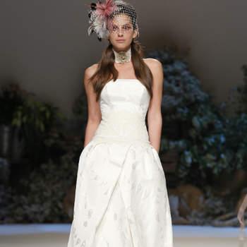 A colecção de vestidos de noiva Inmaculada García 2013 é romântica, elegante e sexy. A estilista define-a como 'neo-vintage'.