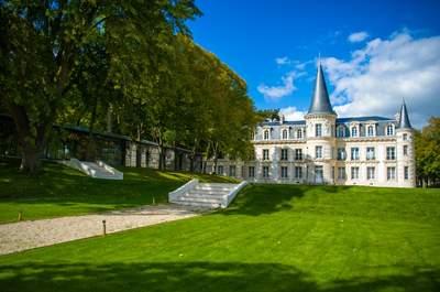 Mariez-vous dans un cadre féerique au château d'Hardricourt !
