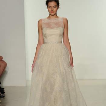 Свадебное платье с вышивкой от Christos 2015