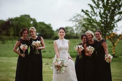 Ślub był w małej kapliczce w hrabstwie Hampshire, a wesele w uroczej posiadłości rodziców Pana młodego! Pięknie!