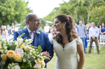 Casamento no campo de Rosana e Maurício: rústico, simples e provando que o amor não tem idade!