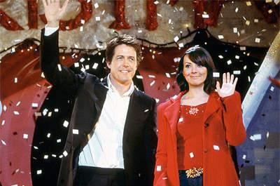 Hugh Grant es experto en protagonizar comedias románticas. Foto: Love Actually