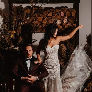 Styled Wedding Shoot: Dark Yes! | Foto: Carola Doornbos