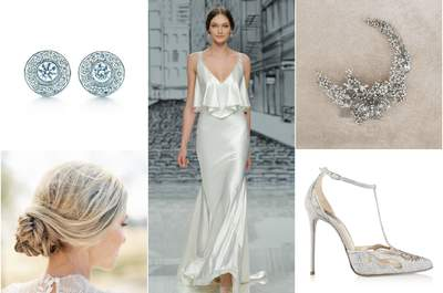 Look de la semana: novia slip dress