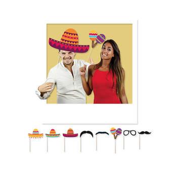 Atrezzo para Photocall: Fiesta Mexicana - 8 Unidades - Compra en The Wedding Shop