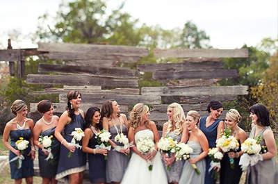 Matrimonio autunno-inverno 2012? Lasciati ispirare dal blu notte e dal grigio ardesia!