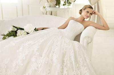 Experimente, em exclusivo, a nova colecção de vestidos de noiva Pronovias 2013