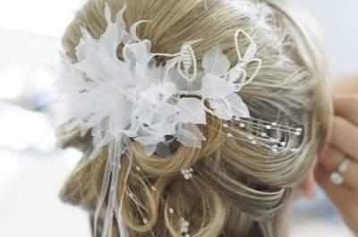6 peinados románticos para novia