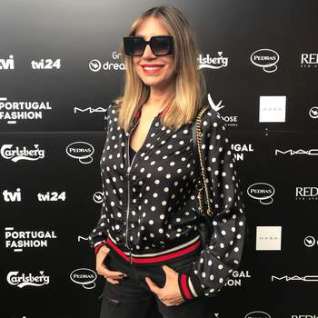 Claudia Jacques vestida por Kocca Official   Foto via Instagram