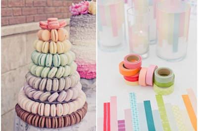 Macarons: un detalle muy chic para el catering de tu boda