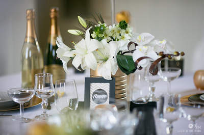 A Great Gatsby-inspired Wedding Shoot: Bring 1920s Glamour to your Big Day!