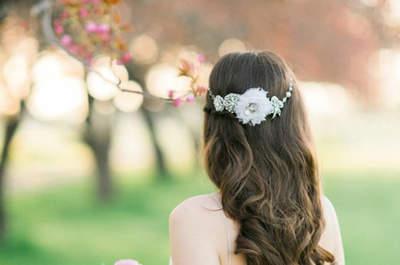 Brautfrisuren mit offenen Haaren – So stilvoll kann Ihr locker-leichter Style aussehen