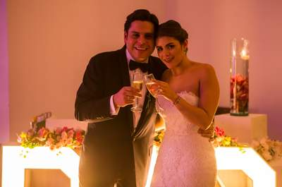 Andrea y Mauricio: un matrimonio lleno de dulces detalles