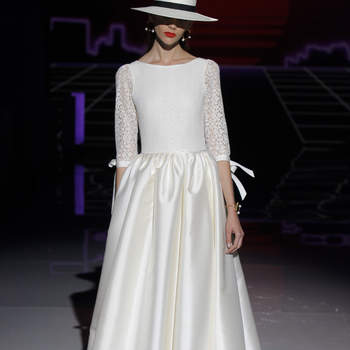 Rembo Styling by Marylise. Créditos: Barcelona Bridal Fashion Week