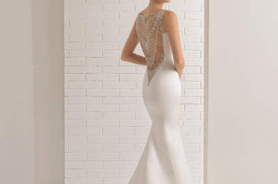 Vestidos de novia con pedrería: ¡diseños que derrochan lujo y glamour!