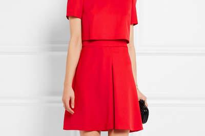 Luce el color de la pasión con estos vestidos de fiesta rojos 2017