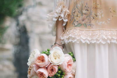 Real wedding international : mariage vintage chic à Florence en Italie