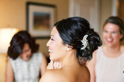 Coiffures de mariée élégantes 2015 : simplicité, sophistiquée et accesorisée