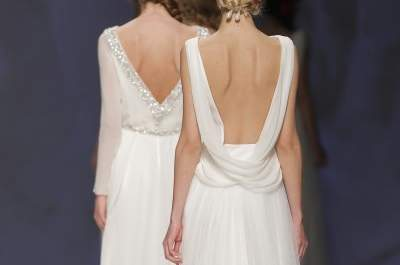 Minimalistic chic from the Victorio and Lucchino 2015 Bridal Collection